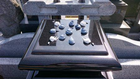 石材用ボンド施工
